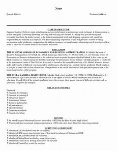 A Sample Of A Good Resume Free Sample Resume Template Cover Letter And Resume