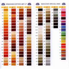 Dmc Rayon Floss Color Chart Dmc Stranded Cotton Colour Chart Shade Card Stitchtastic