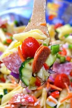 Recipes For Pasta Salad Loaded Italian Pasta Salad The Best Recipes