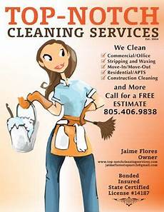 Where To Advertise My Cleaning Business Top Notch Cleaning Services Business Flyer Design