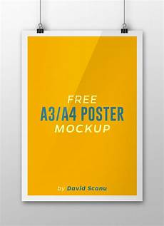 Free Printable Poster Templates A3 A4 Flyer Poster Mock Up Psd Template Free Psd