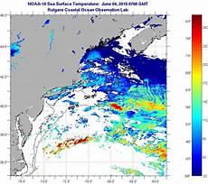 Sst Charts Rutgers Northeast Sea Surface Temperatures Thursday June 4 2015