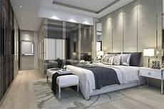 lade da da letto luxury modern bedroom suite in hotel with wardrobe 3d