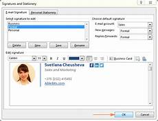 How To Make An Email Signature Create Email Signature On Outlook My Computer Works