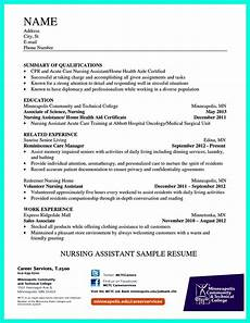 Objective For Nursing Assistant Resume Impress The Employer With Great Certified Nursing