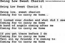 swing low lyrics negro spiritual song lyrics for swing low sweet chariot