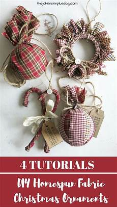 fabric crafts decorations easy cheap diy fabric ornaments for handmade