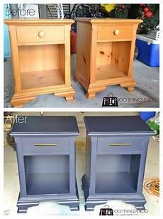 nightstand makeover hale navy furniture furniture