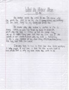 Mother Essays Mother S Day Essay What My Mother Means To Me By Ava