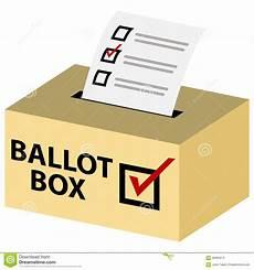 Voting Box 3d Ballot Box Stock Vector Image 56993013
