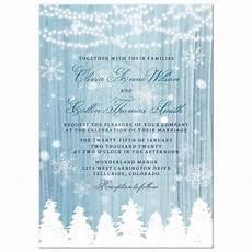 Winter Wedding Invitation Templates Winter Wonderland Wedding Invitations