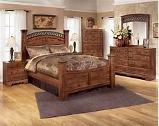 timberline 5 poster bedroom set in cherry