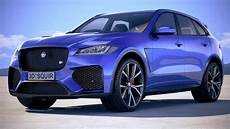 Jaguar Suv 2020 by 2020 Jaguar F Pace Svr Unveiled