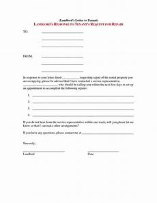 Letter To Landlord Requesting Repairs Template Letter To Landlord Requesting Repairs Template Collection