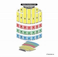 Radio City Music Hall Seating Chart Reviews Radio City Music Hall New York Ny Seating Chart View