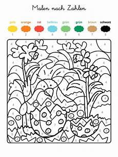 Ausmalbilder Ostern Nach Zahlen Ausmalbild Malen Nach Zahlen Osterk 252 Ken Ausmalen