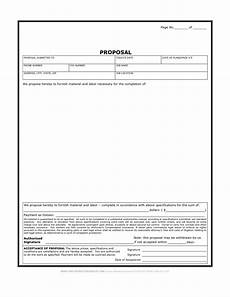 Sample Bidding Form Find And Share Free Documents Estimate Template Free