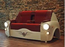 sofa 600 car brings vintage ride into your living room