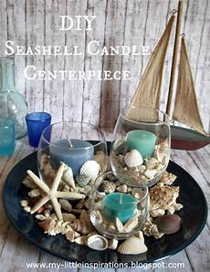 candele con conchiglie my inspirations