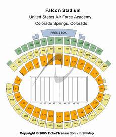 Af Falcon Stadium Seating Chart Air Force Falcons Tickets College Football Mwc Usafa