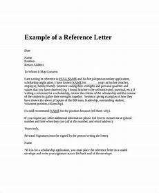Letter Of Recommendation Without Addressee Employment Reference Letter 11 Free Word Excel Pdf