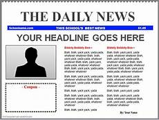 Office Newspaper Template Download Simple Newspaper Template Download Free Office