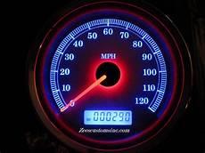 Harley Davidson Red Light On Speedometer Harley Davidson Led Gaugemods Zee S Customs Inc