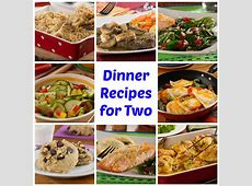 64  Easy Dinner Recipes for Two   MrFood.com