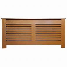 stonehouse horizontal slat oak radiator cover x
