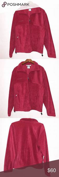 fleece coats for bcbgmaxazria columbia fleece jacket size medium columbia fleece jacket