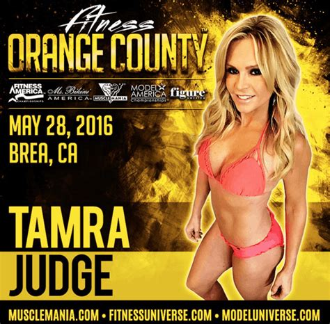 Tamra Judge Fitness Competition