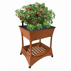 outdoor raised elevated garden bed box stand kit