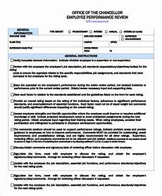 Employee Comment On Performance Appraisal Example Free 7 Sample Employee Performance Review Templates In Ms