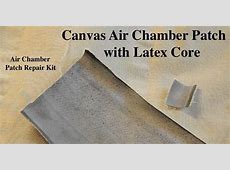 Latex Canvas Air Chamber Patch Kit for Repairing Sleep