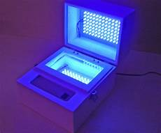 Uv Light Box For Cyanotypes Uv Led Exposure Box 26 Steps With Pictures