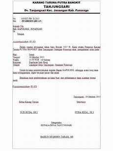 contoh surat pemberitahuan kapolsek mengadakan acara hut ri