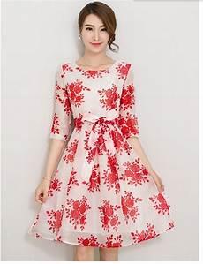 Dress For Fat Lady Design 2016 New Women S Fashion Korean Design Printing Dresses