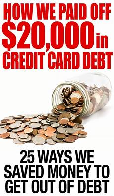 How To Pay Off Credit Card How We Paid Off 20 000 In Credit Card Debt How To Nest