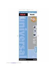 Rca Rcu403 Universal Remote Control Manuals