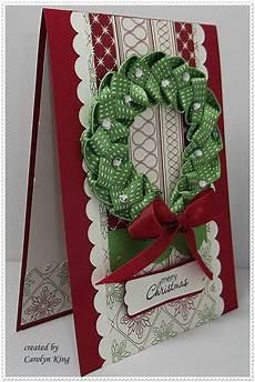 Ribbon Cards Carolyn King Christmas Cards