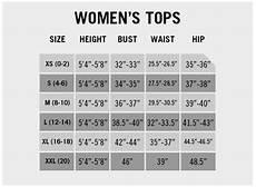 Xhilaration Top Size Chart Size Charts