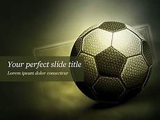 Football Powerpoint Template Soccer Ball Free Presentation Template For Google Slides