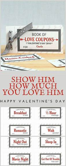 Customized Coupons Diy Crafts For Boyfriend Valentines Day Coupon Books 60