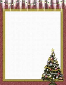 Holiday Stationery Paper Christmas 2 Free Stationery Com Template Downloads