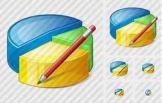 Artistic Pie Chart Pie Chart Edit Icon Vista Artistic Professional Stock