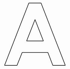 Ausmalbilder Einzelne Buchstaben Buchstaben Des Alphabets Zum Ausdrucken Basteln
