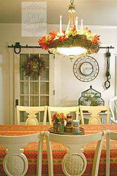 dining room table decorating ideas pictures 30 beautiful and cozy fall dining room d 233 cor ideas digsdigs