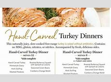 Learn How To Cook A Thanksgiving Meal at Wegmans Or Have