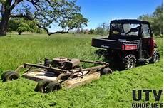 Polaris Ranger Xp 900 Field Mowing Review Utv Guide