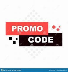 Fawn Design Promo Code Promo Code Coupon Code Flat Vector Set Design